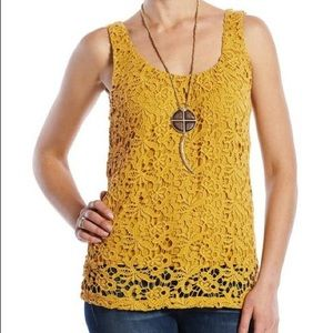 Lucky Brand Lace Tank